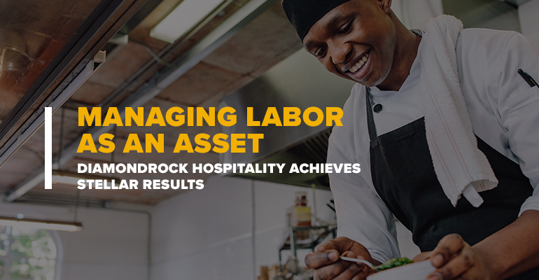 Restaurant Chef Over Text Managing Labor as an Asset – DiamondRock Hospitality Achieves Stellar Results